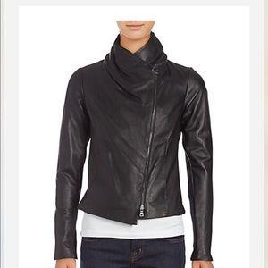 18fd6194c Women Vince Leather Scuba Jacket on Poshmark